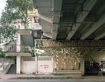 Hans-Christian Schink: Bo Gyoke Road and Pansodan Street, Yangon