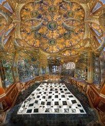Raissa Venables: Gilda's Gilded Corner Cabinet