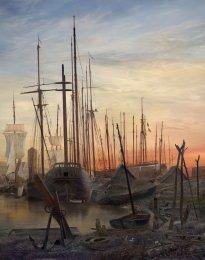 Hiroyuki Masuyama: Greifswalder Hafen