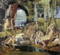 "Jörg Ernert: Nach Rubens ""Ankunft der Maria de Medici in Marseille"""
