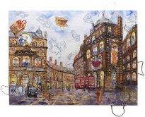 Thitz: London Urban Bag Art