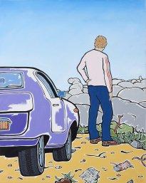 Moritz Götze: Mann am Meer, Selbst auf Highway 1