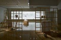 Michiko Nakatani: Installationsansicht Plaza North Gallery 1