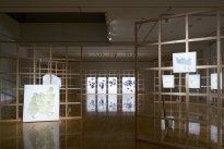 Michiko Nakatani: Installationsansicht Plaza North Gallery 2