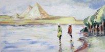 Harald Reiner Gratz: Morgens am Nil
