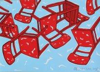 Moritz Götze: Rote Stühle