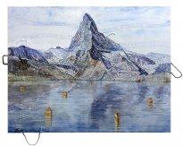 Thitz: Utopian Civilization Mountain Matterhorn Lake