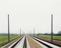 Hans-Christian Schink: ICE-Strecke bei Radefeld