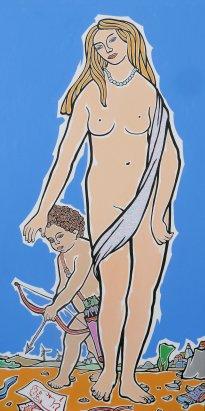 Moritz Götze: Venus und Amor